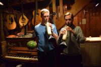 the_room_with_the_open_fire_home_made_vegetable_instruments